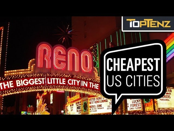 Top 10 CHEAPEST Big American Cities