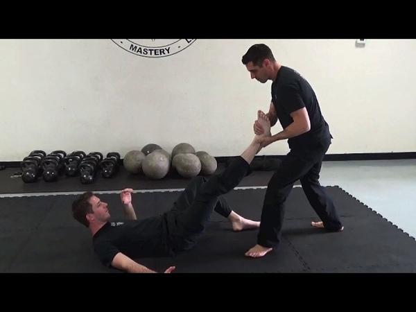 Pencak Silat Indonesian Martial Arts Class in Austin, Texas - Leg Breaks and Controls