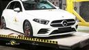 Euro NCAP Crash Test of Mercedes-Benz A Class Barnaul22