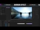 Premiere Pro DOPE Mirror Effect!