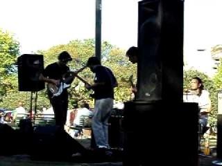 Montenegro - 4 - Gardenia - Kyuss cover - en vivo en Parque Centenario 9 abril 2011