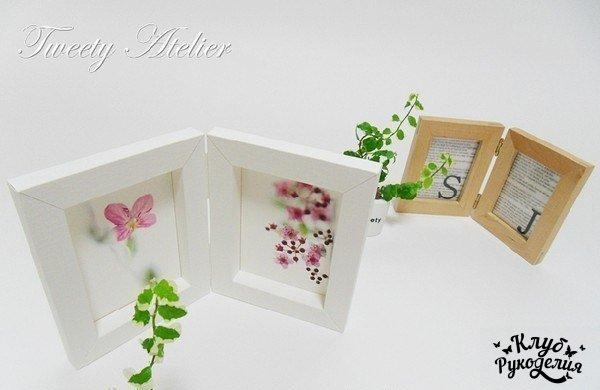 Двойная объемная рамочка (8 фото) - картинка
