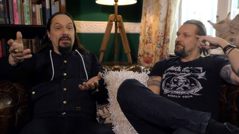 Amorphis interview - Esa Holopainen and Tomi Joutsen (part 1)
