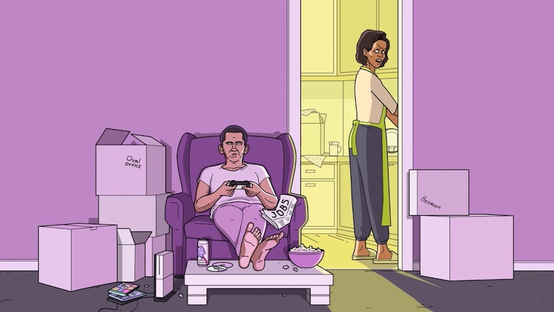 OBAMA LIFE AFTER PRESIDENCY FIRST FREE SATURDAY PLAYING GTA5