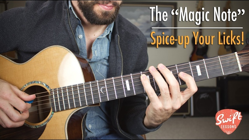 The Magic Note How to Spice Up Boring Pentatonic Licks