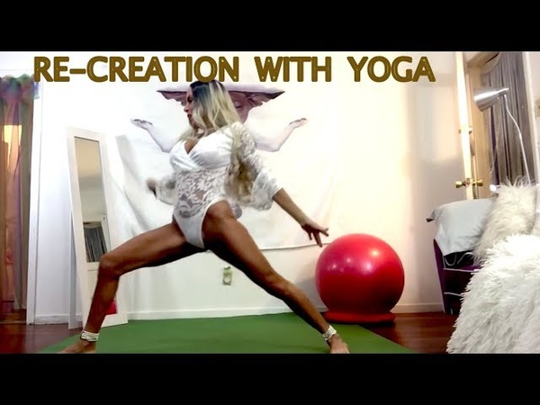 RE CREATE WITH YOGA