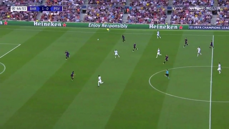 Barcelona vs PSV Eindhoven 4-0 CHAMPIONS LEAGUE HIGHLIGHTS 18092018