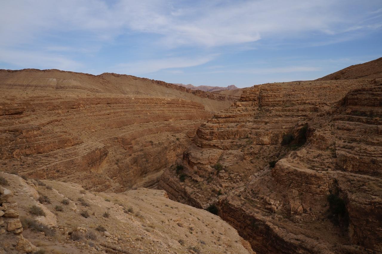 Оазис Мидес и его каньон