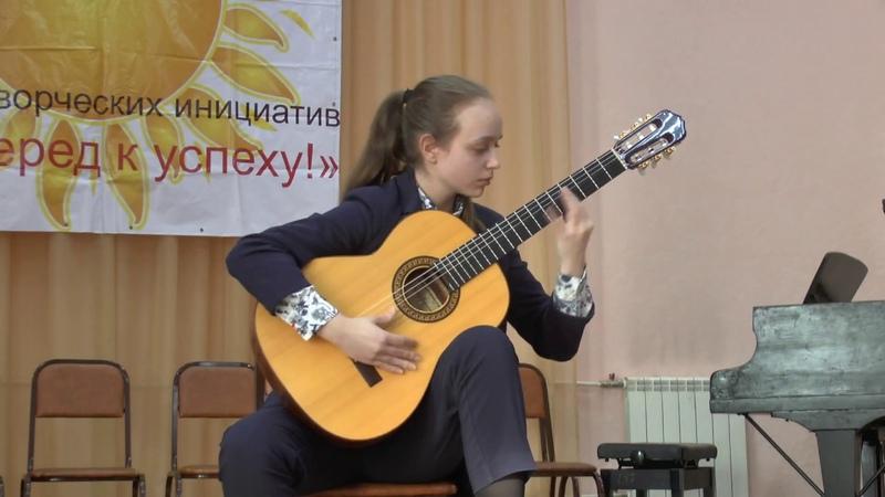 Русская народная песня Ивушка Ф Морено Торроба Фандангильо Судник Дарья