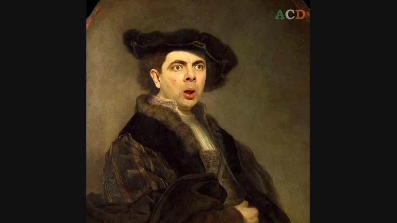 Mr. Bean Photoshoped! 😂