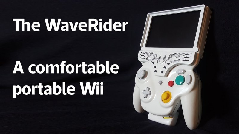 Hack Like Heck ShockSlayer - Portable Wii The WaveRider