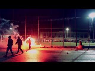 Soli-spiel. fc st. pauli vi - roter stern kickers