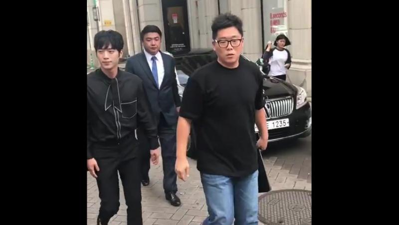 170824 Seo Kang Jun Fansign @ TONYMOLY