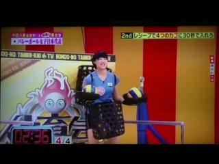 Телешоу в Японии про волейбол