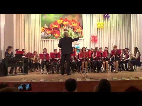 8000316, Образцовый детский духовой оркестр Юность, Инструментальное мастерство А Гадэ Жалюзи, Б