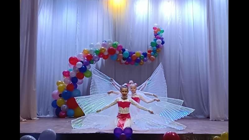 24 05 19 Восточные танцы Роксолана Белые птицы