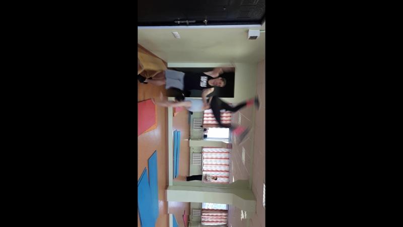 Тренировка в зале 24 апреля 2018г.Инна Дехтярь.