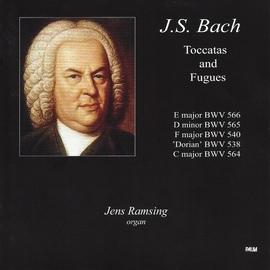 Johann Sebastian Bach альбом J.S. Bach: Toccatas and Fugues