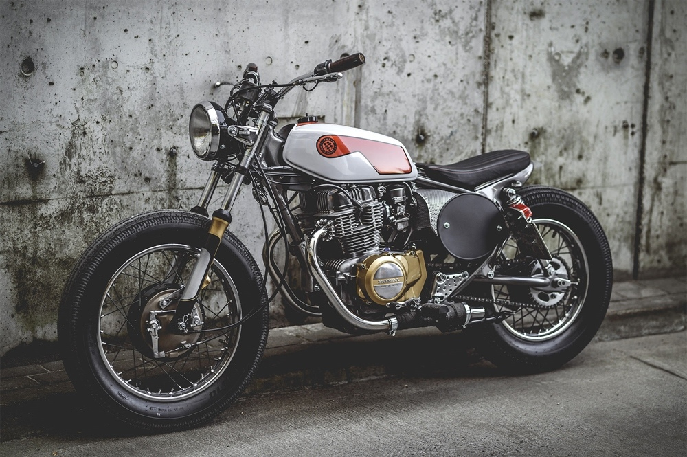 T.Jasin Motorcycles: трекер Honda CB400