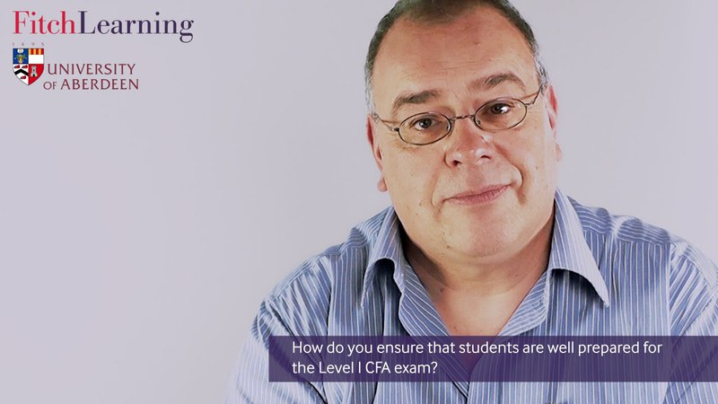 Fitch Learning Level I CFA® training at University of Aberdeen