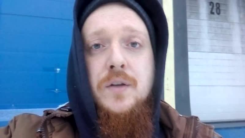 Панк-сходка в поддержку Сергея Николаевского из Кораблино, у которого рязанские газовщики убили жену, отрубив газ в морозы