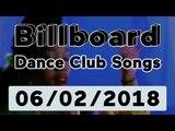 Billboard Dance Club Songs TOP 50 (June 2, 2018)