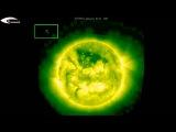 Активность НЛО в корональной дыре на поверхности Солнца и НЛО возле Солнца - Обзор за 1 июля 2013 Множество НЛО и Голограммы в к