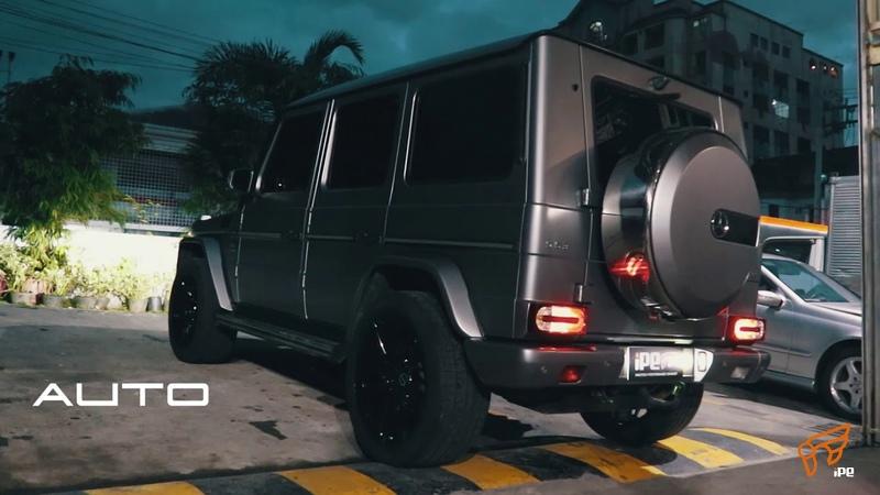 LOUD Mercedes-Benz G63 AMG with iPE EXHAUST