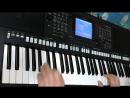 Красивая мелодия - Синтезатор Yamaha PSR-S750