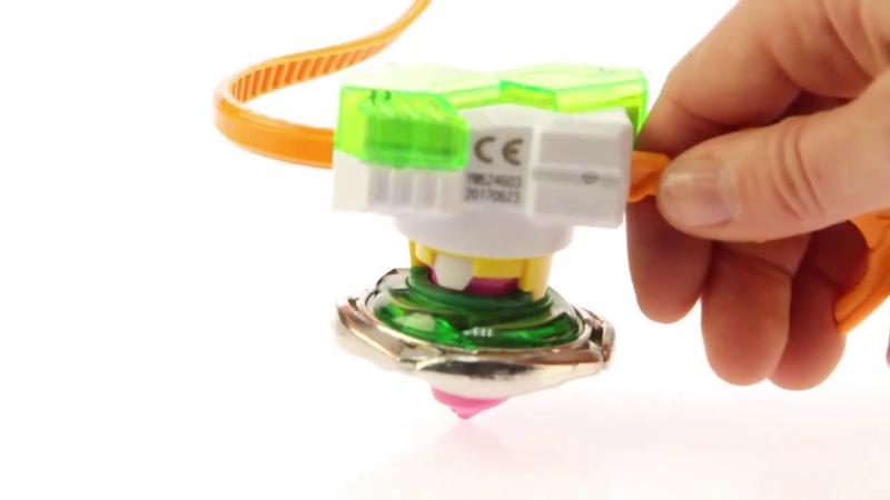 ОБЗОР БейБлейд игрушка волчок Beyblade с запуском Infinity Nado от AULDEY