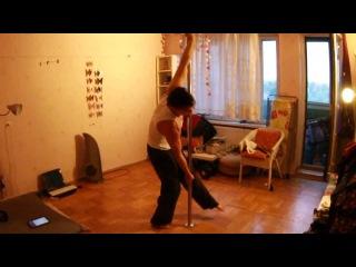 Vladimir Karachunov. several poletrick's variations. static pole.