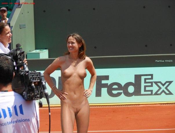 мартина хингис голая фото