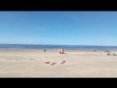 Балтийское море, Юрмала пляж, Латвия 2018 начало июня