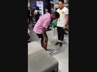 Проверил кроссовки для бега