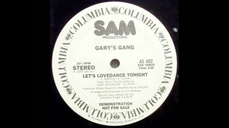 Garys Gang - Lets Lovedance Tonight (1979)