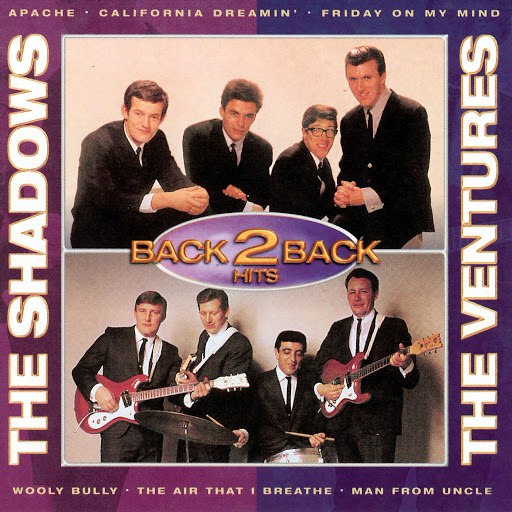 The Ventures альбом Back To Back