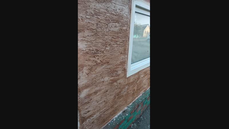 фасад плиточным клеем