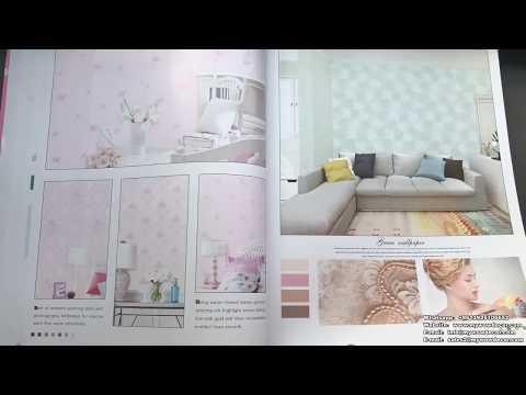 A11-44 Interior Home Decoration Simplicity Design Non-Woven Wallpaper