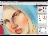 Bikini Babe Painter X painting tutorial with audio instructions Part 8/15