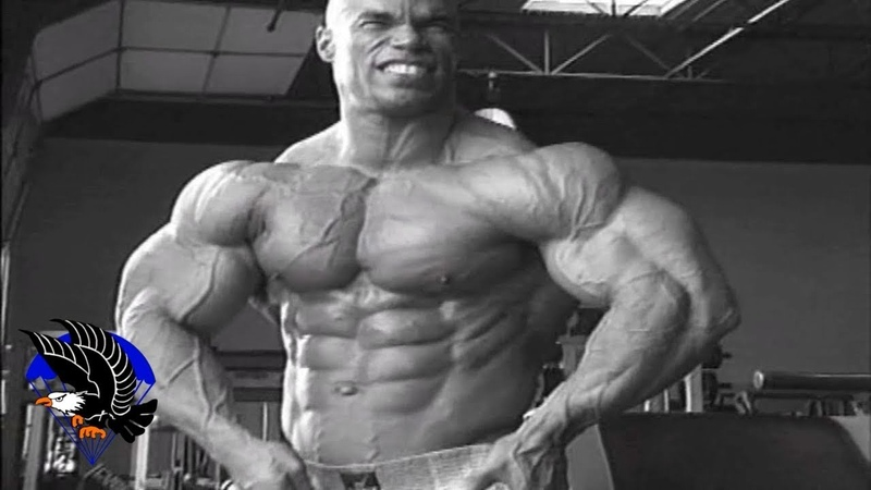 Kevin Levrone - Back Workout For 1997 Mr.Olympia