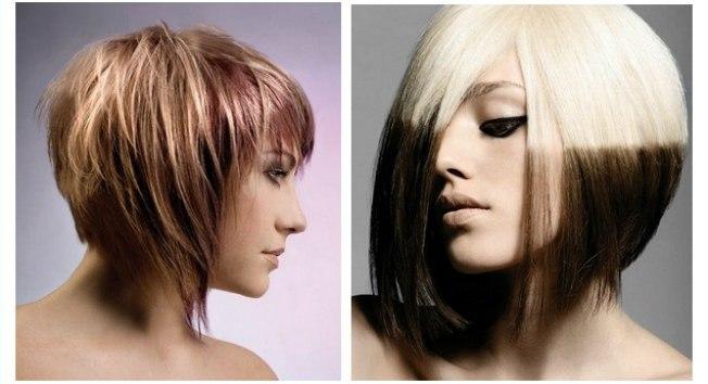 Стрижки на средние волнистые волосы боб каре 51