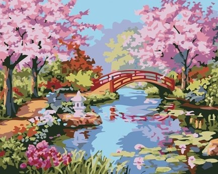 Набор для рисования красками по номерам Dimensions(США).  Высокое качество холста и красок.  Мир творчества и ваш...