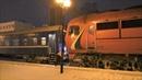 Прибытие и отцепка ТЭП70БС-172 от поезда №614 Солигорск– Могилев на станции Могилев I