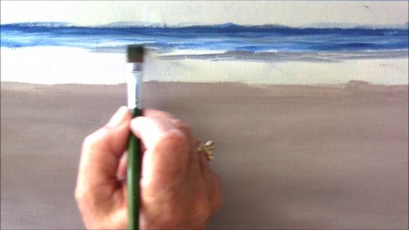 A Beach Scene An Art Tutorial Session 2