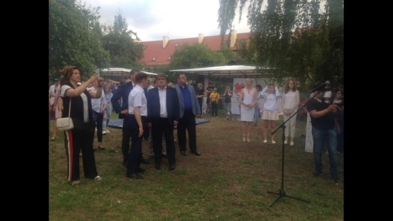 Открытие многофункционального молодёжного центра в Калининграде!