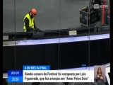 Palco da Eurovisão já ganha forma para receber os primeiros ensaios