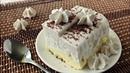 Мороженое с корицей. 3 слоя: сухая смесь, безе и взбитые сливки