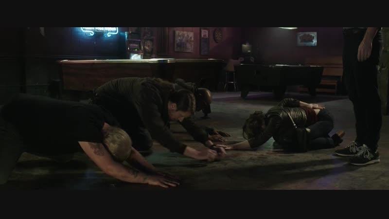Пародия на Криминальное чтиво из фильма Ночные игры