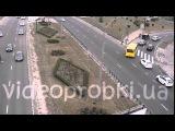 ДТП в Киеве: Gelandewagen подрезал Lexus 17.11.2015