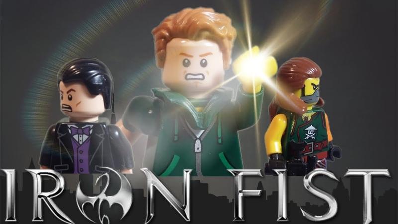 Lego Iron Fist Hero's Way Ep 1 S 1